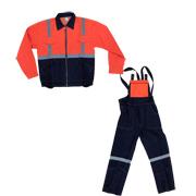 Работен костюм - яке и полугащеризон